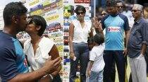 Kumar Sangakkara's moments with wife Yehali