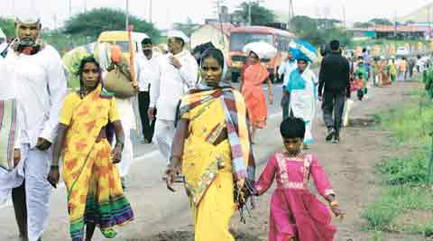 Nashik Kumbh Mela: Huge akhara turnout leads to traffic chaos