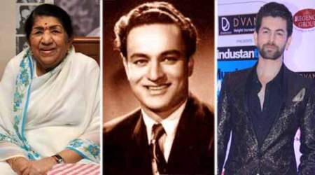 Lata, Neil remember Mukesh on 39th death anniversary