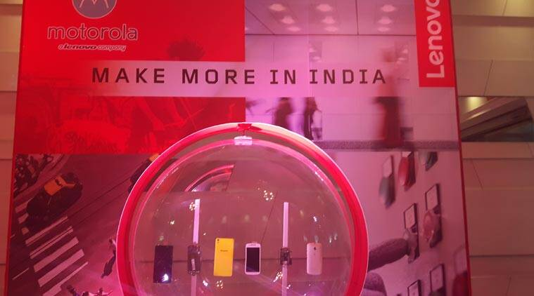 Lenovo and Motorola will start manufacturing in India as well.