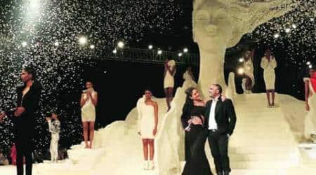 Lakme Fashion Week Winter/Festive 15, LFW WF'15, Gaurav Gupta, LFW Grand Finale, Karl Lagerfeld, Mehboob Studio, Kareena Kapoor Khan, Fashion, Indian Fashion, Fashion Week, Indian Express