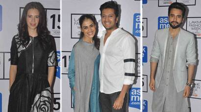 LFW 2015: Riteish, Genelia, Kalki, Jackky guests on Day 3