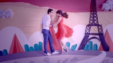 Watch Imran Khan, Kangana Ranaut in the song 'Lip to Lip Kissiyaan' from 'Katti Batti'