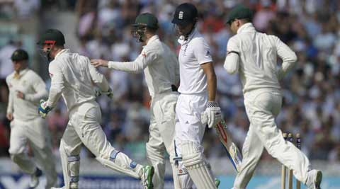 Ashes 2015: After Steve Smith, Mitchell Marsh puts Australia on course of big win against England in fifthTest