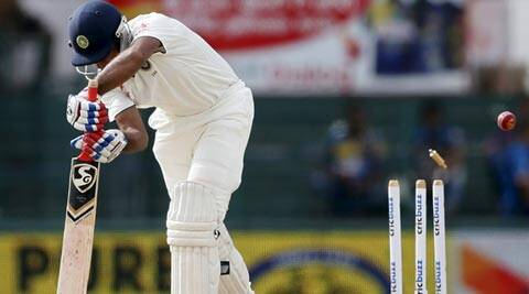 India lose top-order after taking lead over Sri Lanka