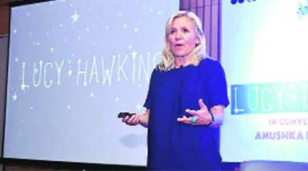 stephen hawking, lucy hawking, science, author lucy hawking, journalist lucy hawking, stephen hawking daughter, stephen hawking seminar, a bried history of time, india news, science news
