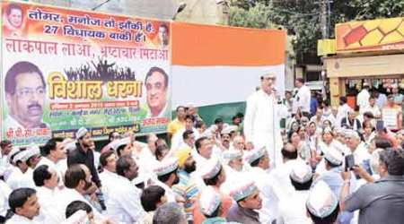 Constitute Lokpal for Delhi, Congress tells AAPgovernment