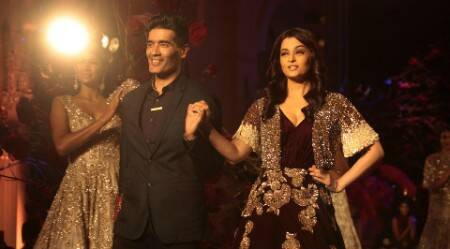 'Unwell' Aishwarya turns perfect muse for Manish Malhotra at AICW 2015