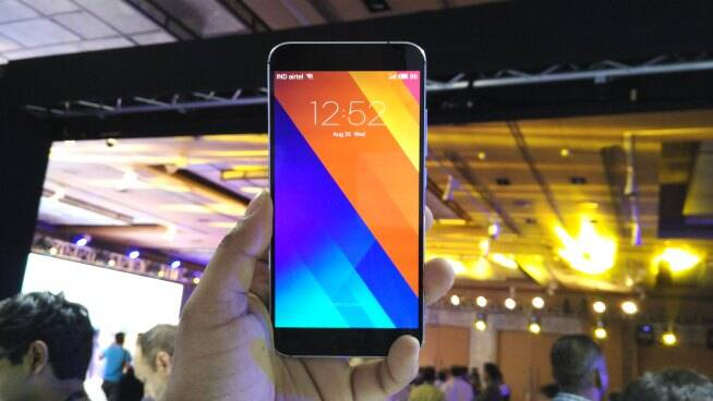 Meizu MX5 has a 5.5-inch full HD AMOLED display.