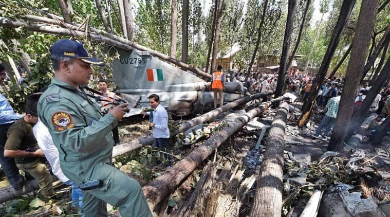 Mikoyan-Gurevich MiG-21, Indian air force, Mig 21, Mig 21 crash, Mig 21 srinagar, Mig 21 Budgam crash, Mig J&K crash, J&K mig 21 crash, Mig 21 crash, Mig 21 Bison aircraft, Mig 21 Bison aircraft crash, Mig 21 fighters, Indian Air Force, IAF pilots, IAF indo pak war, Latest news, India news, India Express latest news