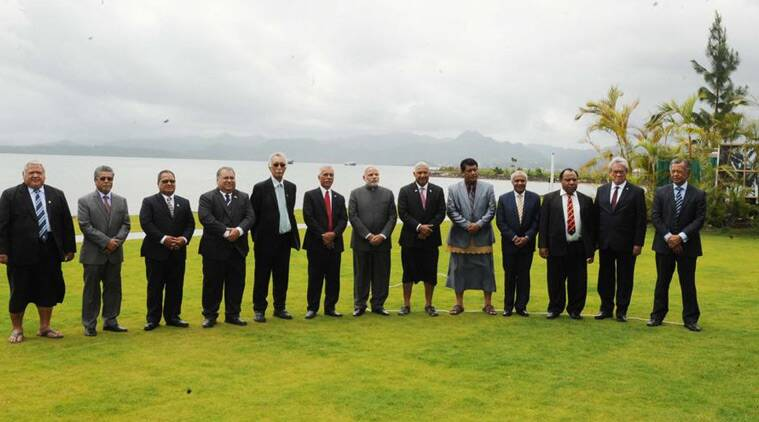 1st meeting of Forum for India-Pacific Islands Cooperation in Fiji. Climate Change, Development Cooperation in focus. (Source: @MEAIndia/Twitter)