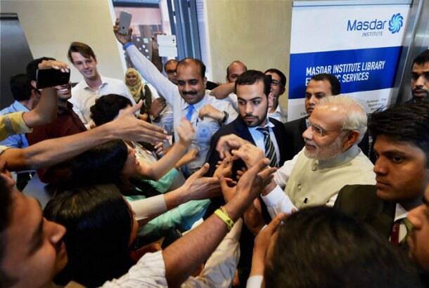 Narendra Modi, Modi in uae, Narendra Modi second day UAE, Narendra Modi UAE visit pics, Modi UAE day one pics, Modi UAE day two pics, modi second day in UAE, Modi UAE visit day 2, Modi investors meet, Narendra Modi in UAE, modi, modi uae, uae, pm modi, pm modi uae, uae modi, narendra modi uae, uae narendra modi, modi news, Modi UAE visit pictures, uae news, india news, indian express