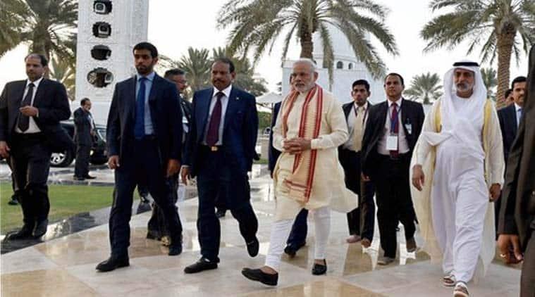 UAE, modi UAE, modi UAE visit, Narendra Modi, Gulf nation, hindu temples, india news, news