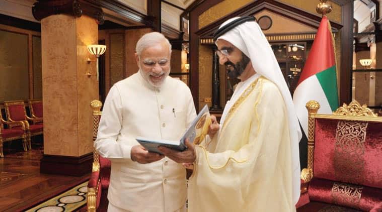 modi in uae, pm modi, narendra modi, United Arab Emirates, modi UAE visit, UAE crown prince, Mohamed Bin Zayed AI Nahyan, Modi UAE crown prince talks, UAE India deals, UAE india relationship, UAE news, india news, latest news, top stories