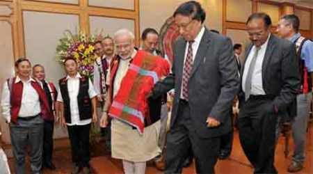 Naga accord, Naga peace accord, NSCN(IM), Nagaland militants, Nagaland peace accord, Nagaland militancy, Nagaland news, Nagaland Governor P B Acharya, india news, nation news