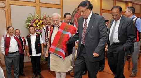 Naga accord, Naga peace accord, NSCN(IM), Nagaland militants, Nagaland peace accord, Nagaland militancy, Nagaland news, Nagaland Governor P B Acharya, india news, nation news