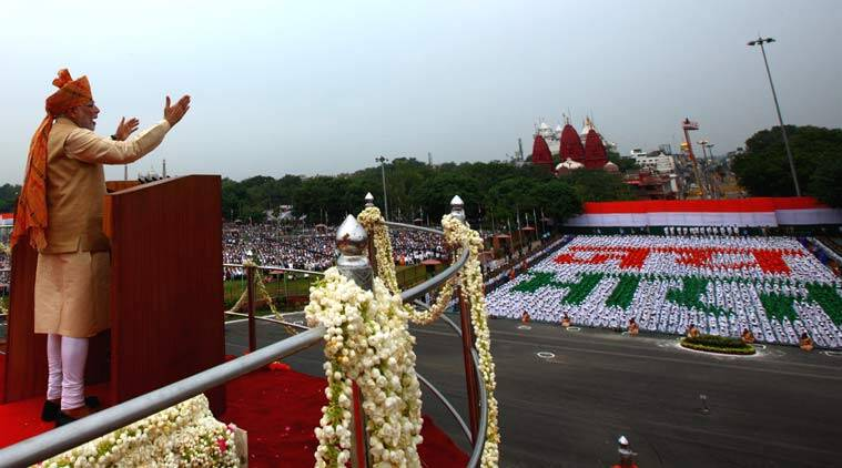 narendra modi, indian independence day, india independence day, 69th independence day, narendra modi independence day, modi independence day address, red fort, india news, latest news, top stories