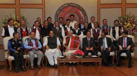 Naga accord, Naga peace pact, NSCN(IM), Nagaland peace accord, Narendra Modi, Army, NDA government, Indian Army, Rh Raising, Issak Chisi Swu, Naga peace pact, Thuingaleng Muivah, naga insurgent group, Naga insurgency, NSCN(IM), Nagaland news, Indian Express, Nagaland news, india news, nation news