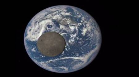 NASA camera captures stunning view of 'dark side' ofmoon