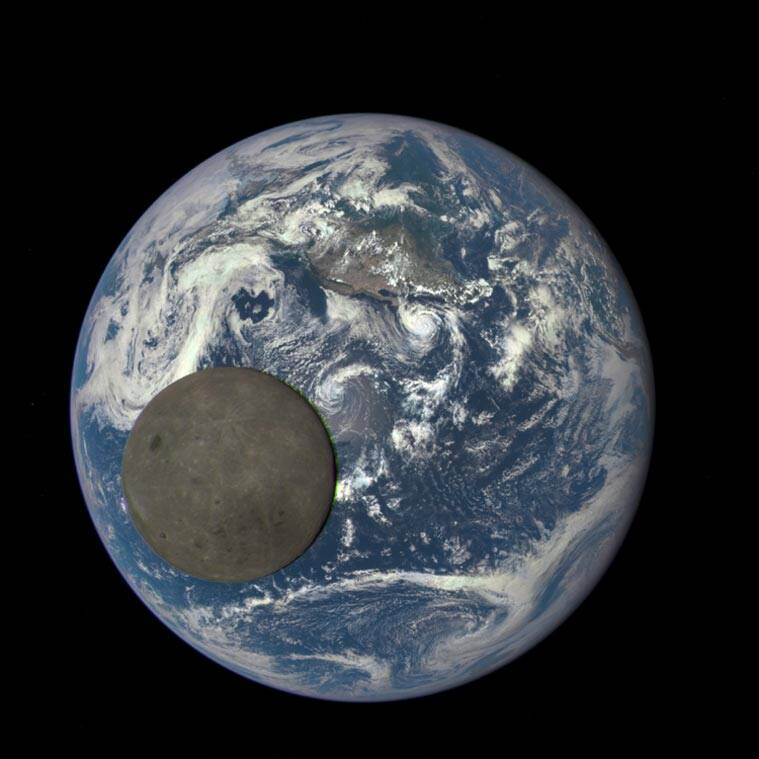 Darker side, moon Darker side, NASA, Moon, Darker side moon, moon Darker side, moon dark side, NASA Moon, moon new photo, NASA news, indian express news