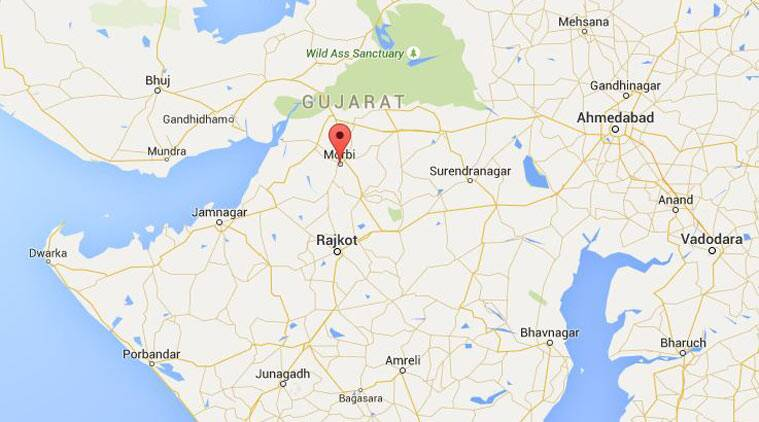 Gujarat Curfew Lifted From Mobri Mobile Internet Service - Morvi map