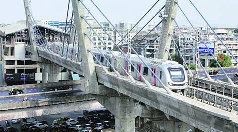 metro, mumbai metro, mumbai metro construction, MMRC, NGT, metro rail car depot, BMC, mumbai news, indian express