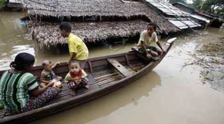 Myanmar floods: Nearly one million affected, 99 dead so far