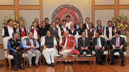 Meanwhile, Nagas are told: Resolve before government character, leader, changes