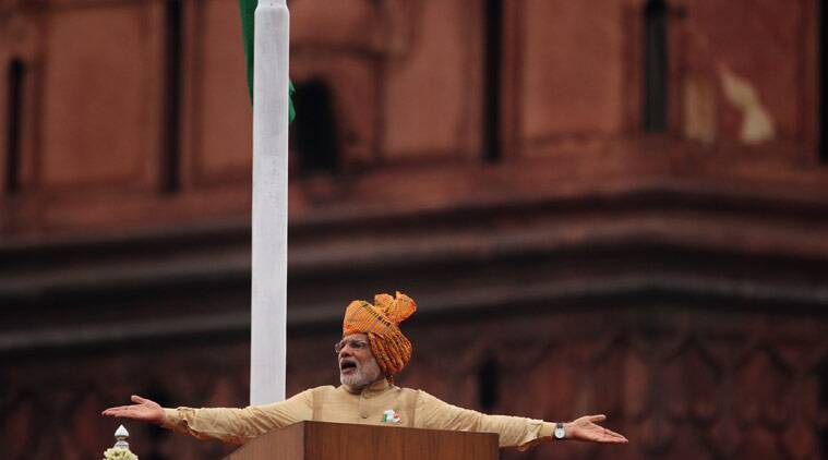 indian independence day, narendra modi, india independence day, 69th independence day, narendra modi independence day, modi independence day address, red fort, india news, latest news, top stories