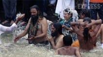 Kumbh Mela, Nashik Kumbh Mela, Nashik Kumbh Mela 2015, Kumbh Mela 2015 pictures, Trimbakeshwar Kumbh Mela, Trimbakeshwar Kumbh Mela 2015, Kumbh Mela 2015, shahi snan, Digambar, Nirmohi, Nirvani, Vaishnav, hindu festival, indian festival, india news, news