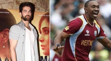 Neil Nitin Mukesh, Dwayne Bravo team up for an international single