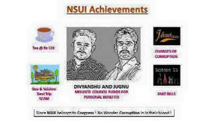 Cartoon war: SOI hits back at NSUI