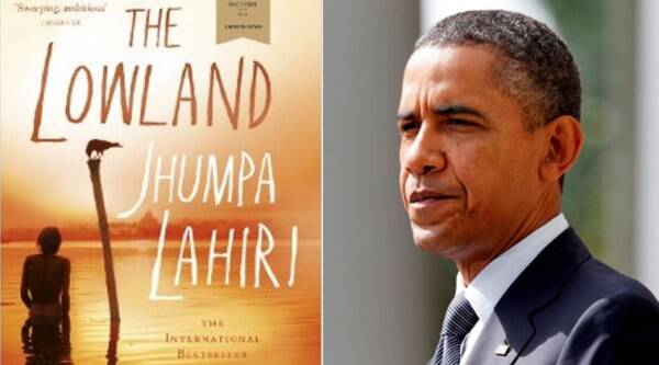barack obama, jhumpa lahiri, obama lahiri, jhumpa lahiri novel, obama jhumpa lahiri novel, the lowland, obama lowland, the lowland novel, obama vacation, obama vacation books, US president barack obama, obama news, world news, latest news