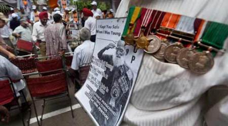 OROP, indian Armed Forces, One Rank One Pension, indian Army OROP, Koshiyari Committee, NDA government, UPA government, iecolumnist, P Chidambaram, The Indian Express