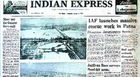 Indian Express, Indian Express front page , express front page