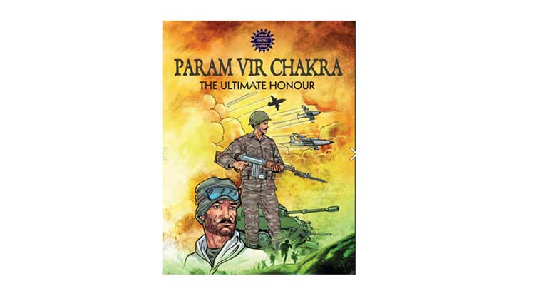 Param Vir Chakra is the new comic book by Amar Chitra Katha that honours the 21 awardees of this medal.