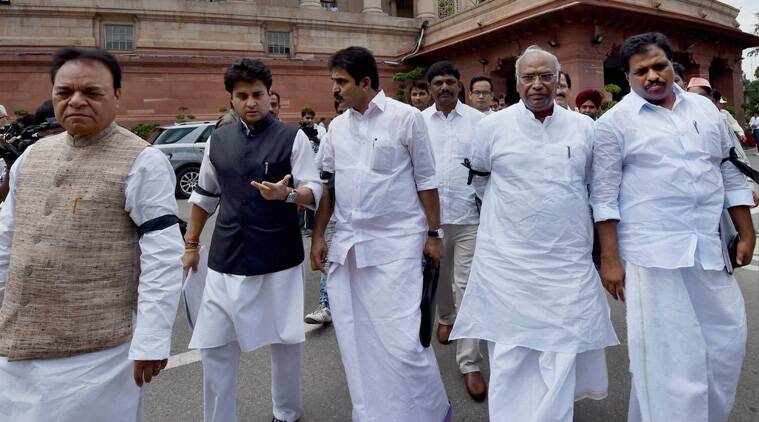 congress, all-party meet, parliament all party meet, bjp, vyapam, lalit modi, sushma swaraj