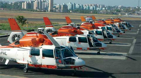 Missing Pawan Hans chopper found, rescue operation underway