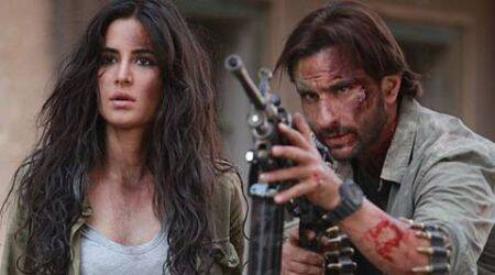 It's a Rs 33.18 crore opening weekend for Saif Ali Khan, Katrina Kaif's 'Phantom'