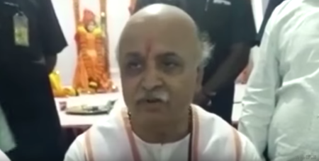 Praveen Togadia: Concerned About The Declining Number Of Hindu Population