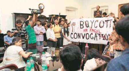 Students let 'unwell' Presidency University V-C leave campus