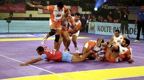 Pro Kabaddi League: Jaipur Pink Panthers beat Puneri Paltan, stay in hunt