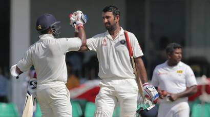 Cheteshwar Pujara, Amit Mishra star on sloppy day for India