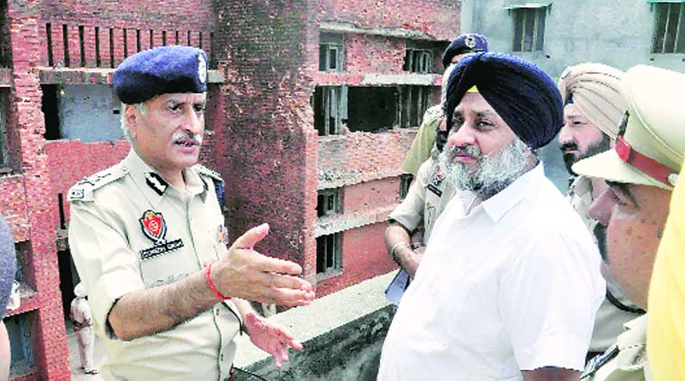 Dina Nagar attack, Punjab Deputy CM, Sukhbir Singh Badal, Border Security Force, BSF, Punjab DGP, Sumedh Singh Saini, Dina Nagar terrorist attack, terrorist attack, punjab terrorist attack, Punjab police, punjab news, india nes, indian express news