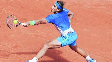 Rust off, Rafael Nadal embraces dirt