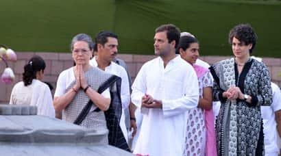 Rajiv Gandhi, Rajiv Gandhi s 71st birth anniversary, Miraya Vadra, Sonia Gandhi, Rahul Gandhi, Priyanka Vadra, Robert Vadra, President Pranab Mukherjee, Manmohan Singh, Miraya Vadra photos, Miraya Priyanka Vadra,