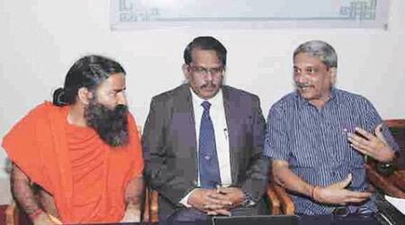 Ramdev Baba, DRDO, ramdev drdo, ramdev baba news, india news, ramdev baba drdo marketing, manohar parrikar