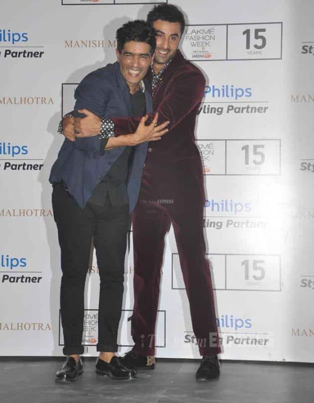 Manish Malhotra, Ranbir Kapoor, LFW 2015
