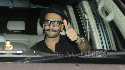 Post injury, Ranveer Singh back in business