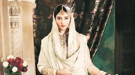meera ali, designer meera ali, 19th century courtesan, 19th century design,1870 fabric, umrao jaan era, Muzaffar Ali, farshi gharara, Jaanisaar, India news, fashion news, entertainment news, lifestyle news